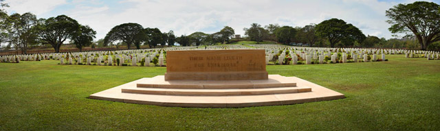 Bomana War cemetery Port Moresby