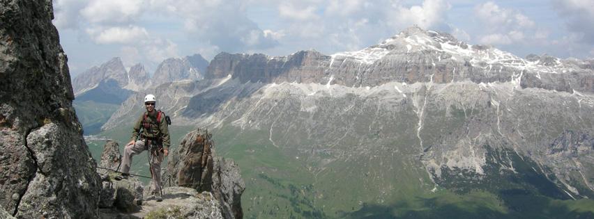 Via Ferrata Delle Trincee. Dolomites. Grade 4B