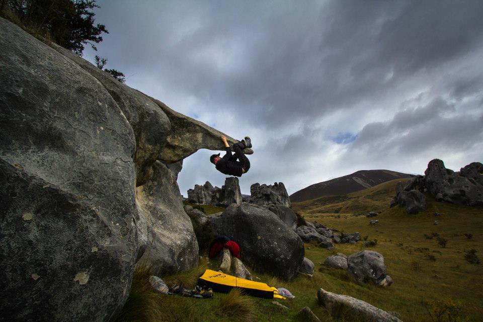 Castelhill bouldering