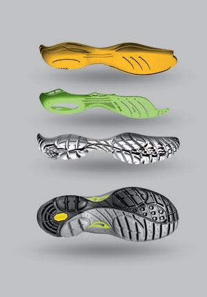 Asolo Hiking Shoe Sole