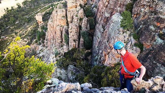 Arapiles rock climbing