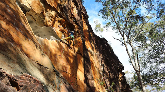 Bogong Blog - Winter Crags: Where to Climb When the Weather