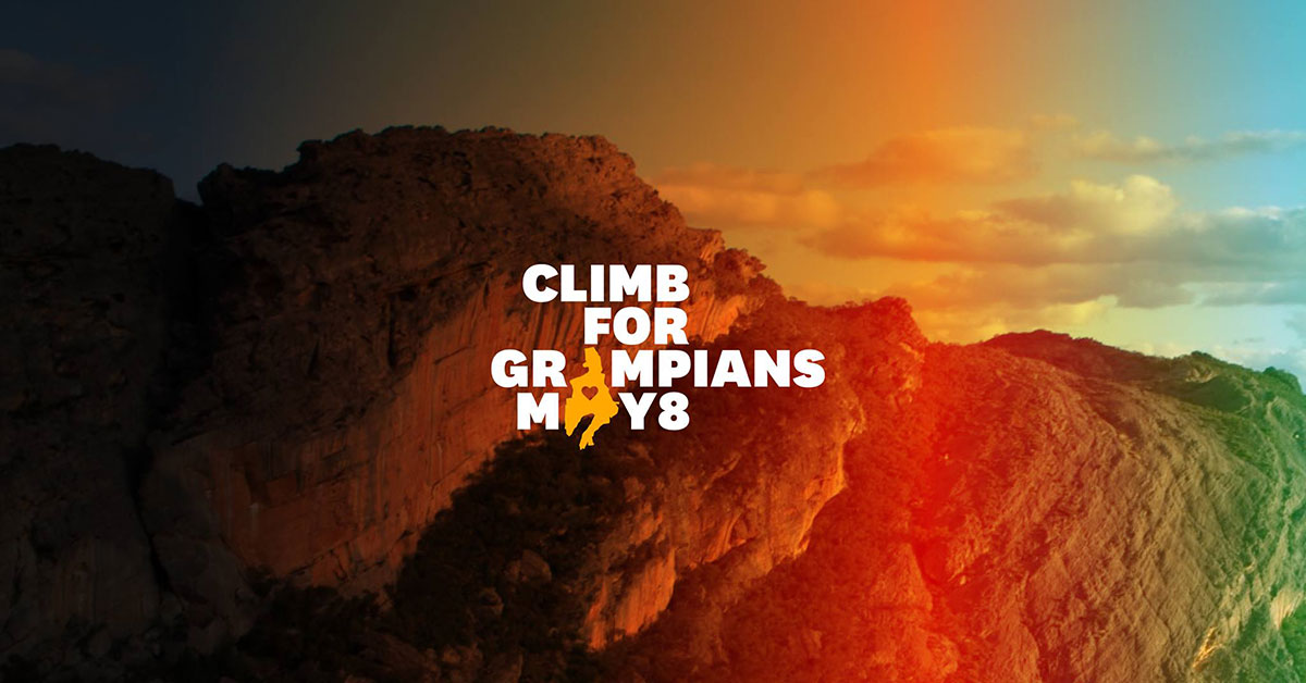 Climb for the Grampians May 8
