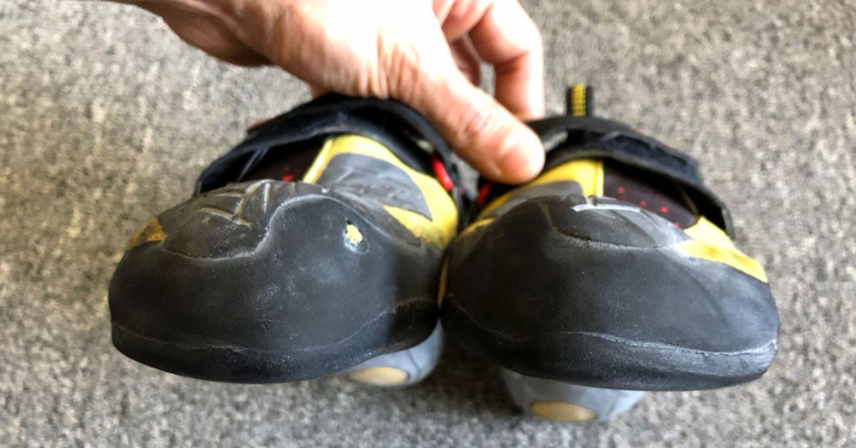 climbing shoe resole