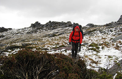 winter bushwalking
