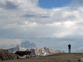 Rifugio Lagazuoi. Dolomites. Italy