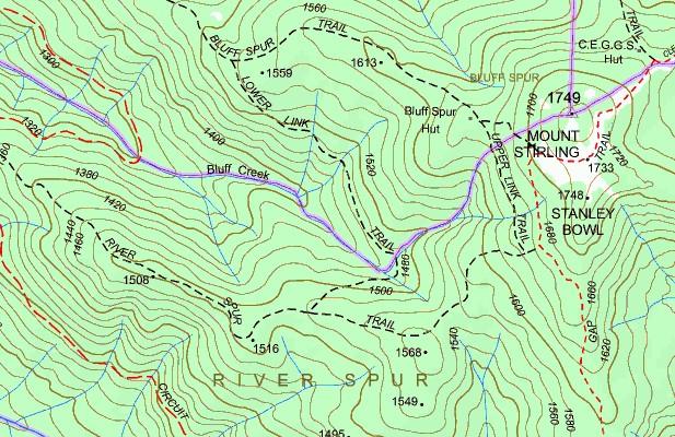 MEMORY MAP AUST - VICTORIA SET TOPO