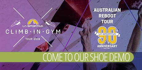 La Sportiva Shoe Demo