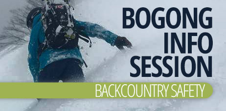Bogong Info Sessions