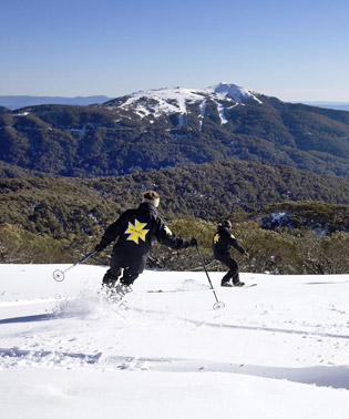 Mt Stirling Ski Patrol in action.