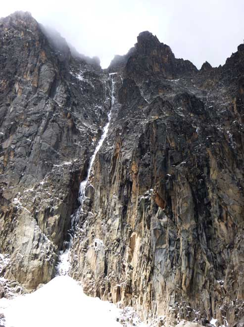 Diamond Couloir, Mt Kenya