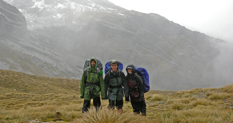 Mont Austral and Tempest jackets in action. New Zealand