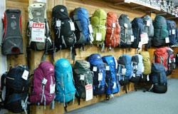 Bogong pack display