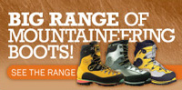 Mountaineering Boots - See our big range