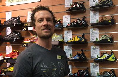 La Sportiva climbing shoe range video still