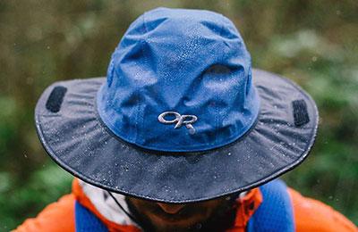 Wet Seattle Sombrero Hat