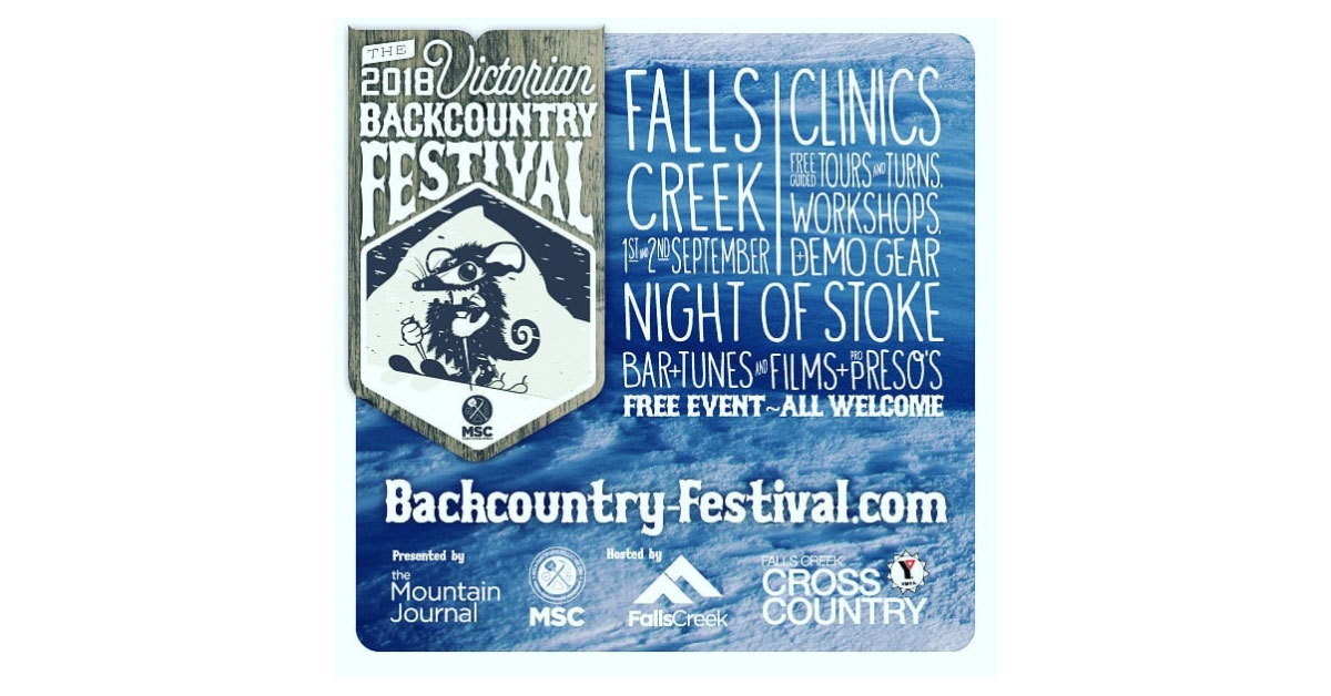 Victorian Backcountry Festival