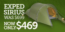 Exped Sirius II Tent Sale