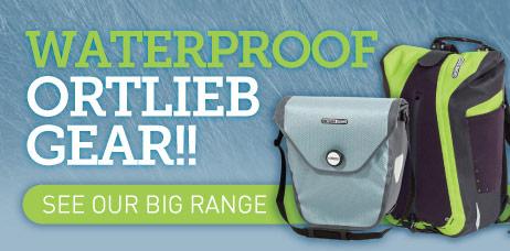 Waterproof Ortlieb Bags and Panniers