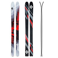 Black Diamond skis