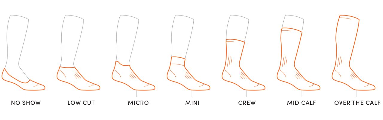 Icebreaker sock height chart