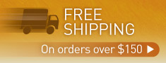 Free shipping Australia wide on orders over $150!