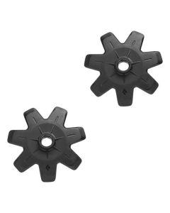BLACK DIAMOND POWDER BASKETS (PAIR)