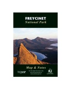 TAS FREYCINET NATIONAL PARK MAP
