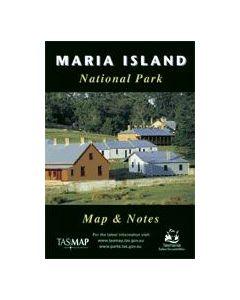 TAS MARIA ISLAND NP MAP