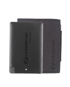 LIFEVENTURE RFID CHARGER WALLET AND POWER BANK