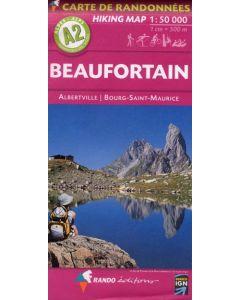 Beaufortain map 1:50 000