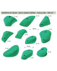 MAKAK CLIMBING HOLD SET Big Set Nazca 20 Mixed Colours