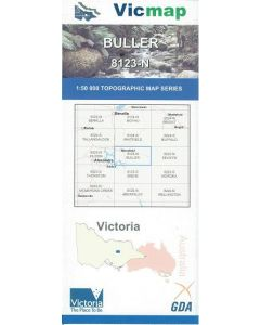 VICMAP 50K BULLER 8123-N
