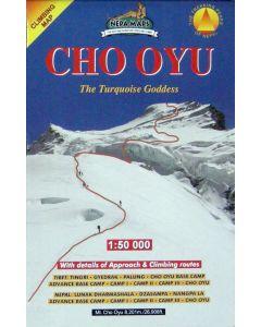 CHO OYU MAP 1:50,000