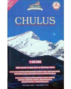 CHULUS MAP 1:50,000