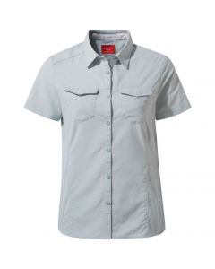 CRAGHOPPERS NosiLife Adventure II Ladies Short Sleeve Shirt