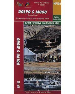 DOLPO & MUGU (DOUBLE SIDED MAP) 1:150,000
