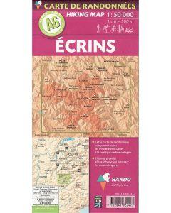 Ecrins Massif map 1:50 000