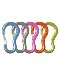 Assorted colours. Price is for ONE carabiner.