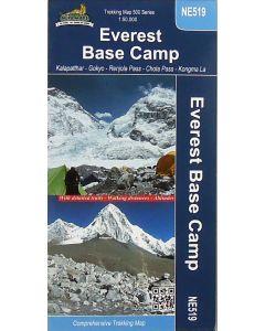 EVEREST BASE CAMP MAP 1:50,000