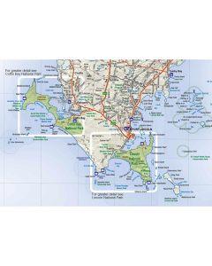 EYRE PENINSULA MAP 1-600k