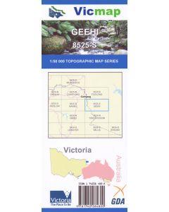 VICMAP 50K GEEHI 8525-S