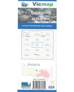 VICMAP 50K GIBBO 8424-N