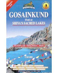 GOSAINKUND: SHIVAS SACRED LAKES: 1:50,000