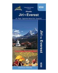 KHUMBU JIRI TO EVEREST TREKKING MAP: 1:100,000