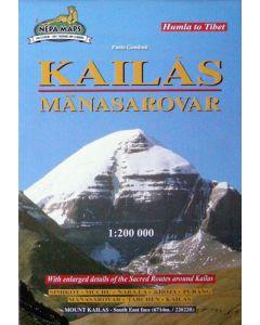 KAILAS MANASAROVAR MAP 1:200,000
