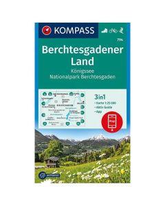 KOMPASS Berchtesgadener Map 1:50,000