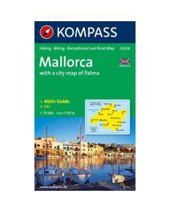 KOMPASS MALLORCA Map 1:75,000