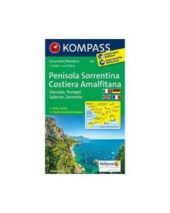 KOMPASS PENISOLA SORRENTINA Map 1:50,000