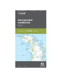 TASMAP 50K MACQUARIE HARBOUR TN04